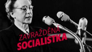 """""""Milada Horáková, socialistka."""" Nová strana Levice se překvapivě vyjádřila k dnešnímu výročí."""