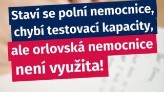 Dopis ZO Orlová pro ministra zdravotnictví